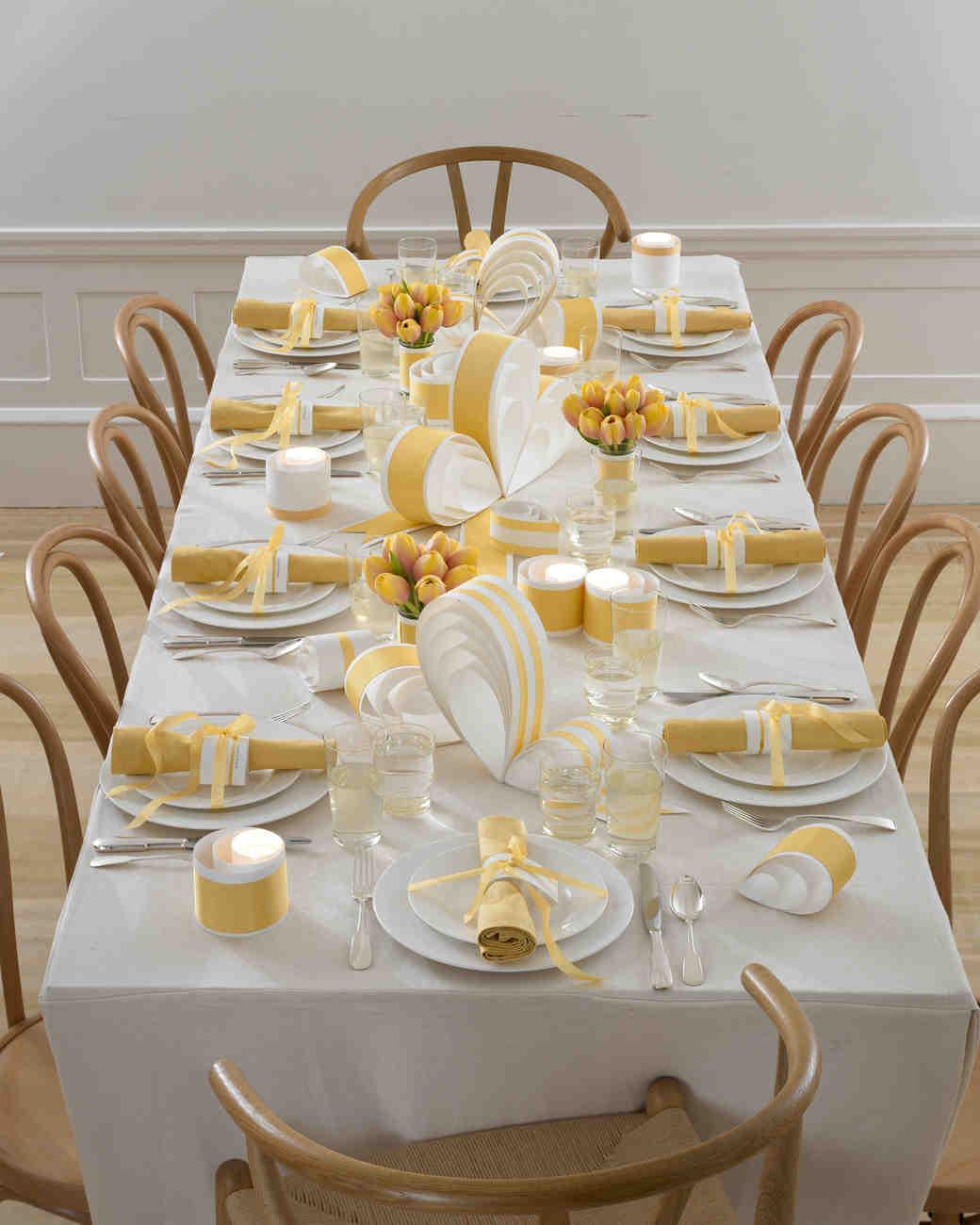 Non Floral Wedding Table Centerpiece Ideas