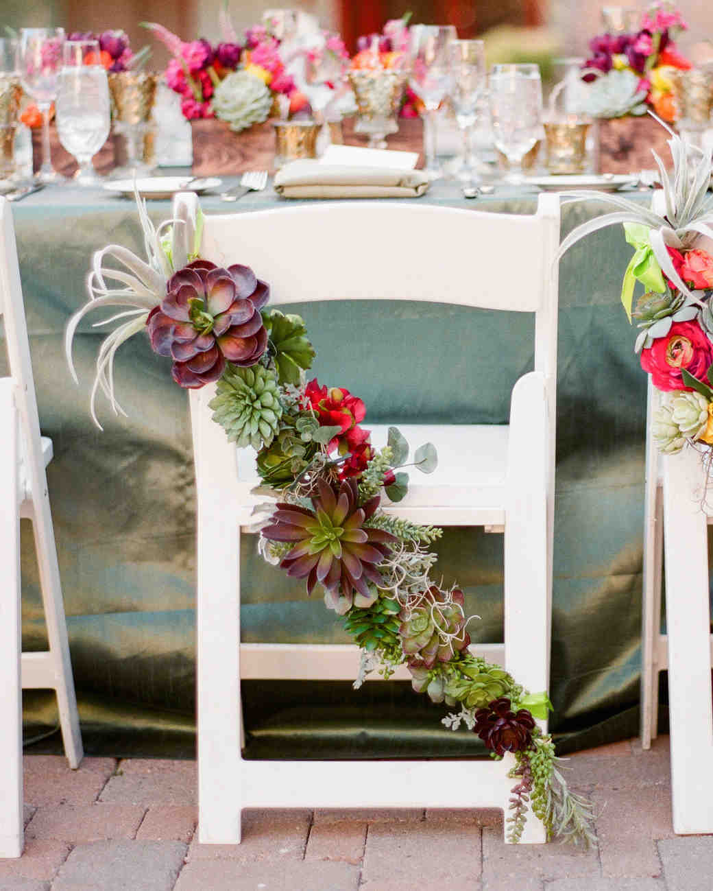 beach wedding chair decoration ideas cover rentals boston ma 36 for using succulents at your martha