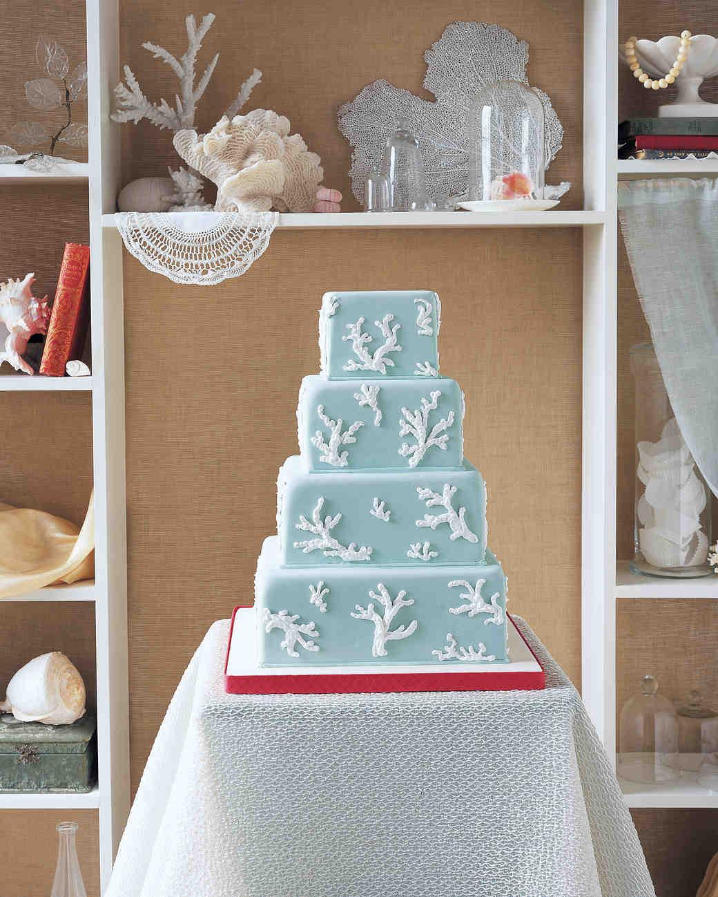 25 Amazing Beach Wedding Cakes  Martha Stewart Weddings
