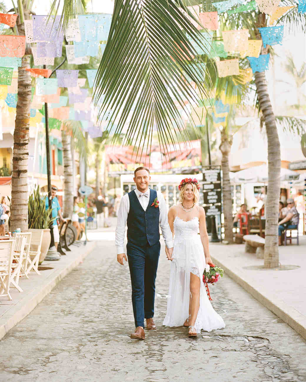 This Mexico Wedding Was Bursting With Bold Colors Martha