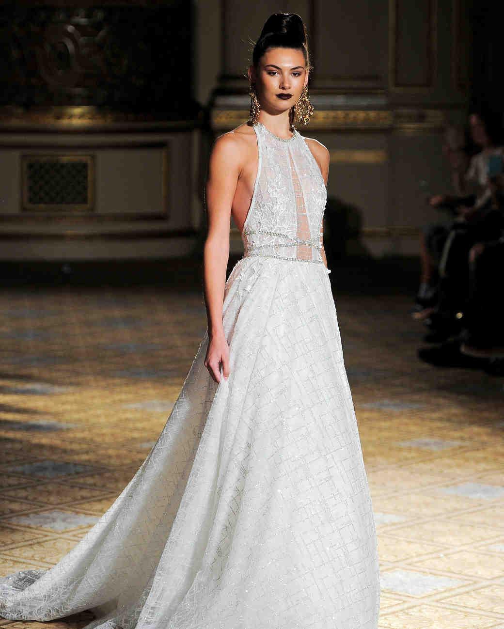 Berta Spring 2018 Wedding Dress Collection  Martha Stewart Weddings