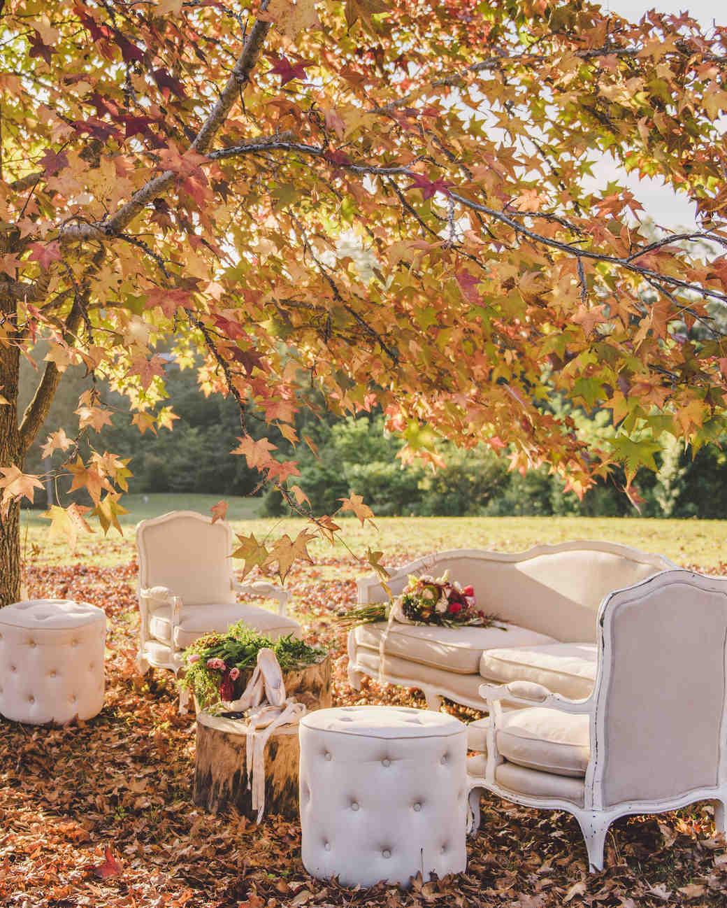Our Favorite Seasonal Ideas for a Fall Wedding  Martha