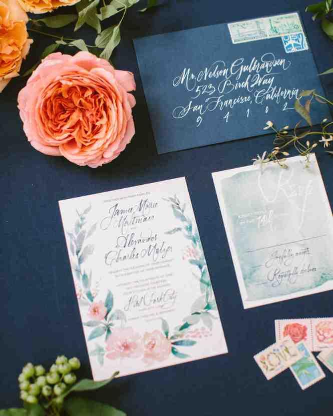 Enclosure Wedding Invitation