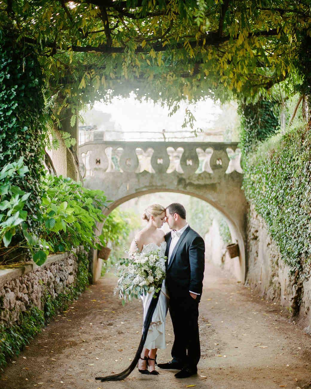 A Chic  Intimate Destination Wedding on the Amalfi Coast