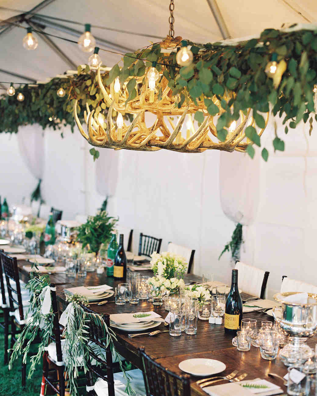handmade wooden chairs ted bundy electric chair 42 stunning banquet tables for your reception | martha stewart weddings
