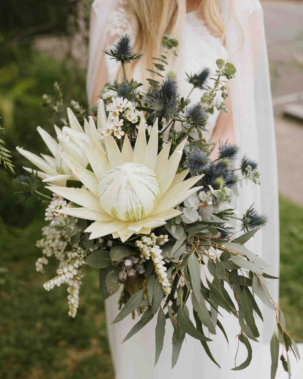 30 Amazing Protea Wedding Bouquets  Martha Stewart Weddings