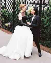 16 (Awesome) Nontraditional Wedding Dresses | Martha ...