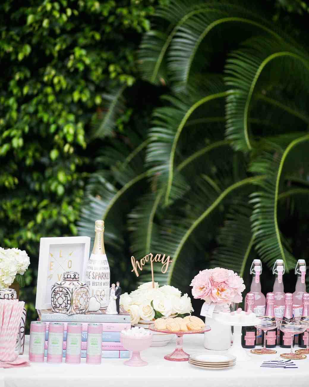 The Essential Elements of a Bridal Shower Dessert Bar  Martha Stewart Weddings