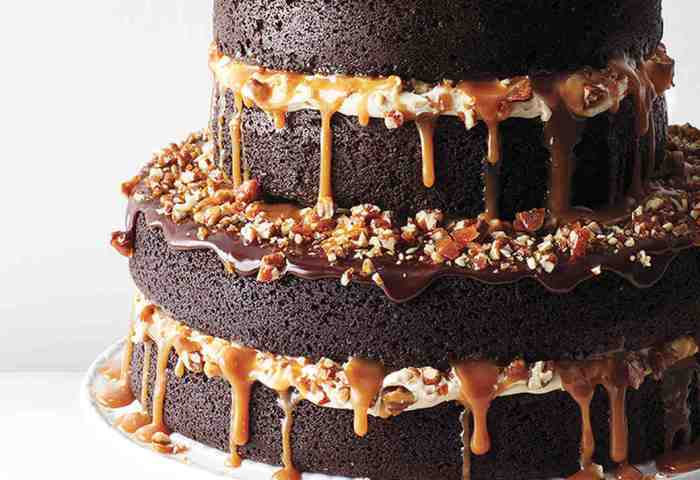 Chocolate Stout Cake With Caramel Buttercream Salted Caramel