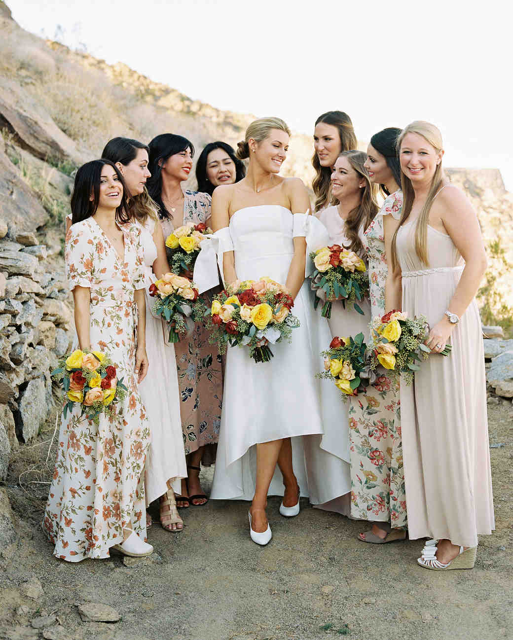 Pretty Wedding Hairstyles for Your Bridesmaids