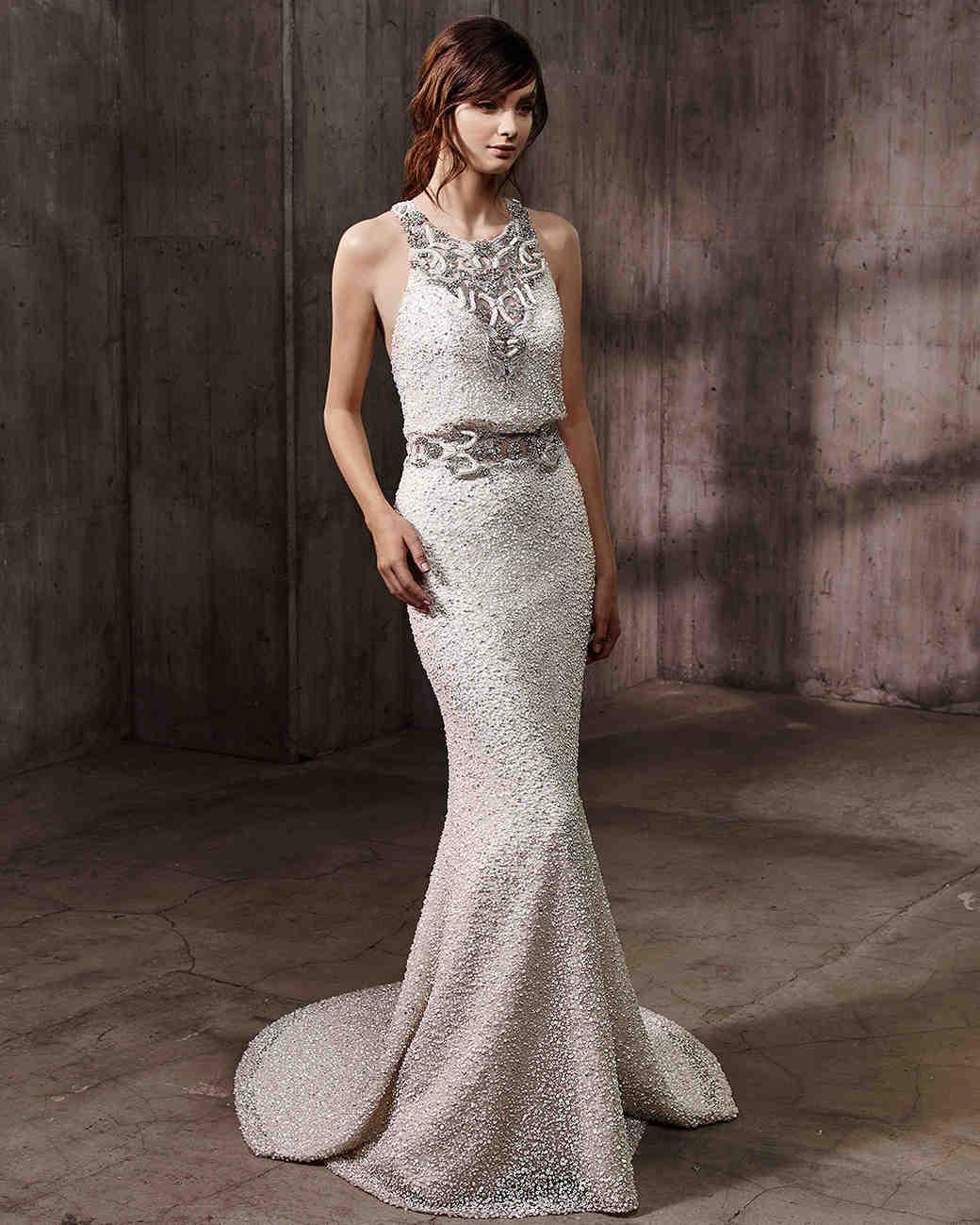 Badgley Mischka Fall 2017 Wedding Dress Collection  Martha Stewart Weddings