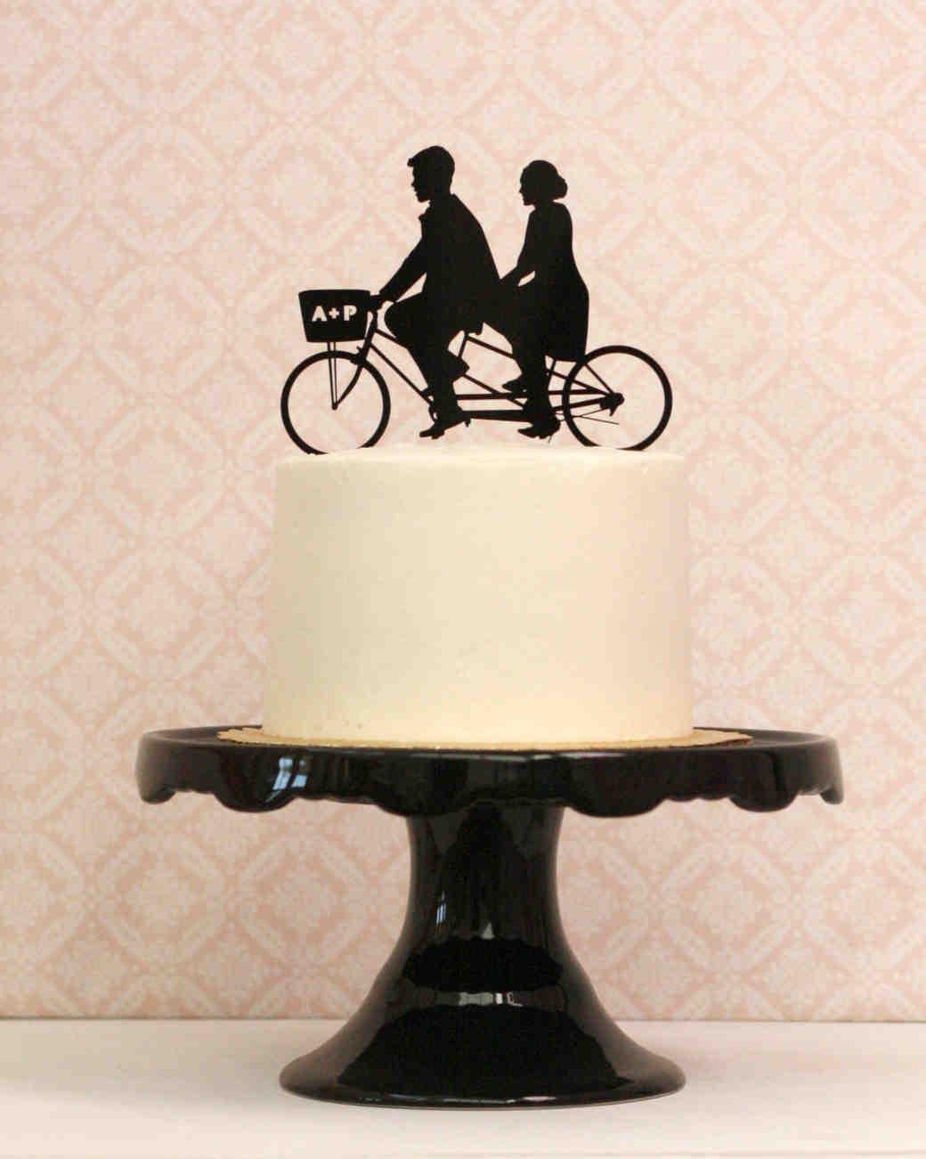 Custom Tattoo Wedding Cake Toppers