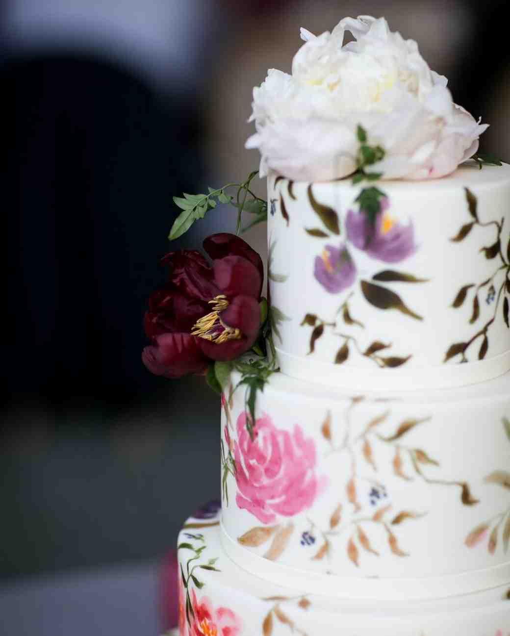 Martha Stewart Weddings Cakes