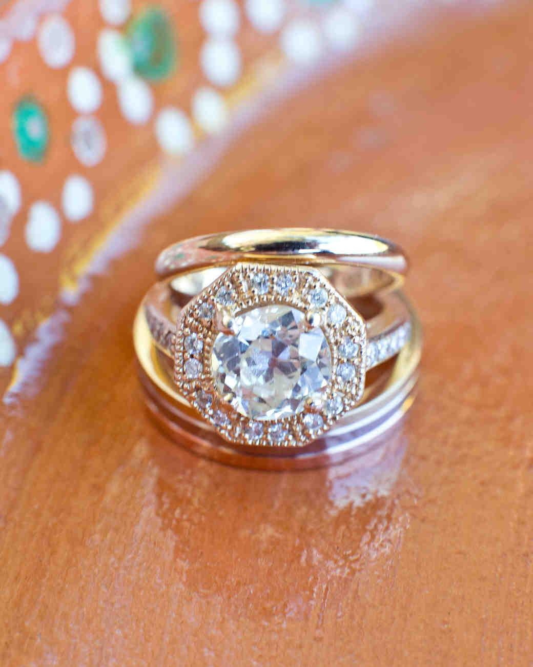 Martha Stewart Weddings Rings