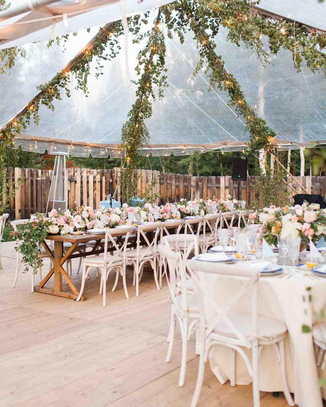 A Guide to Wedding Reception Tables  Martha Stewart Weddings