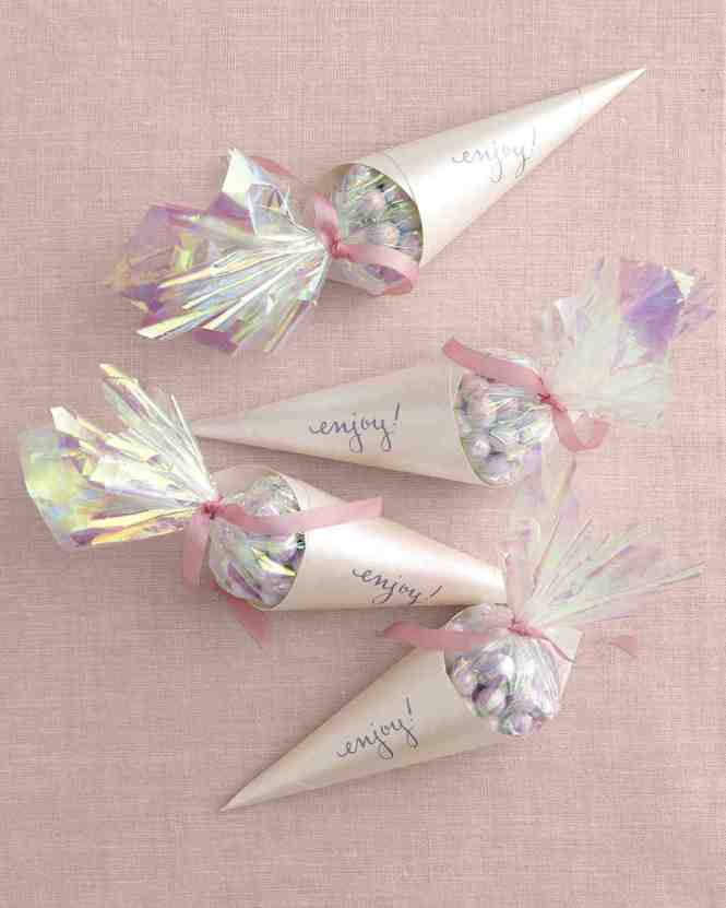 Opalescent Candy Cones