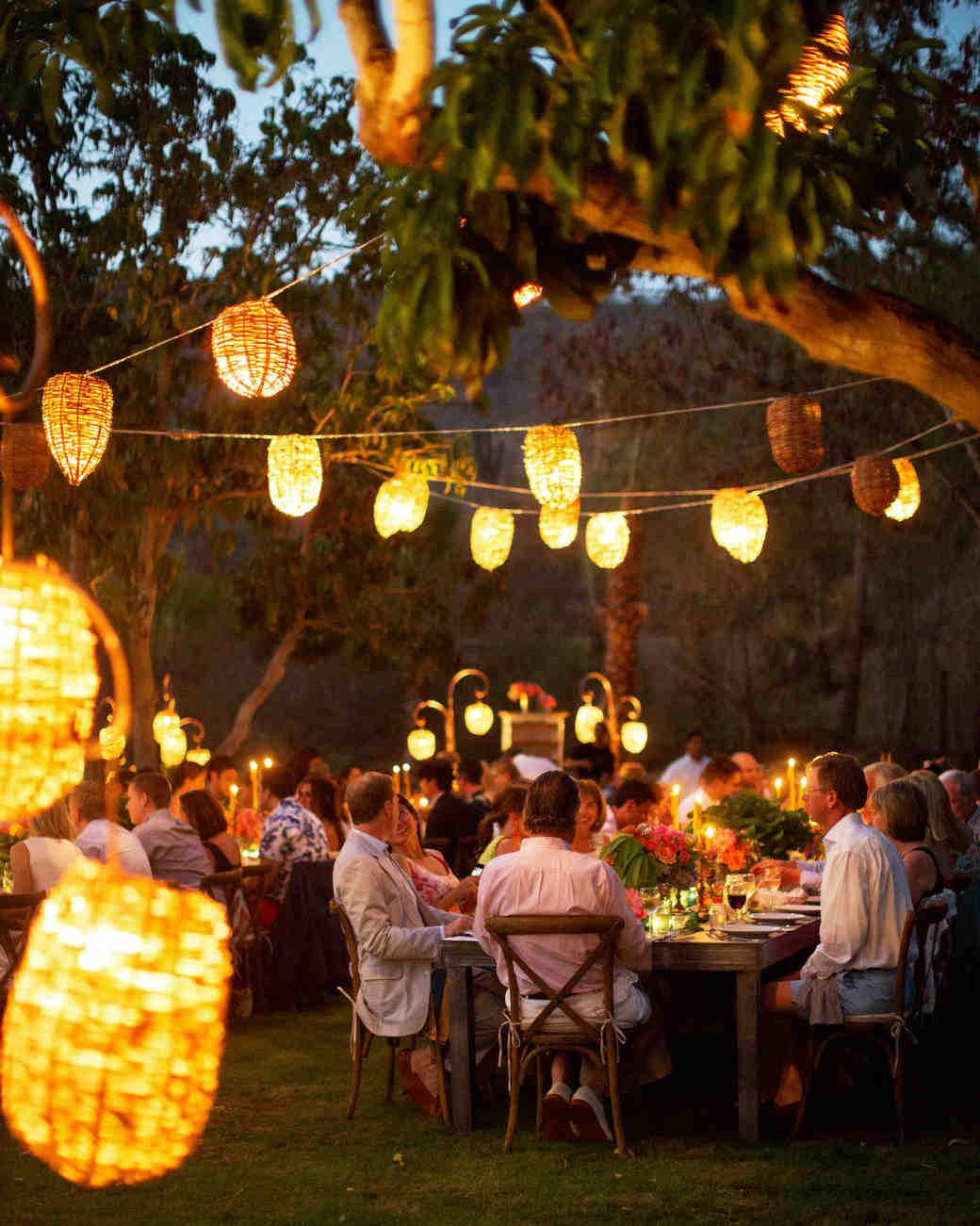 wedding party dinner