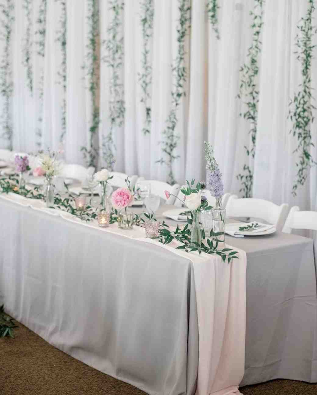 28 Ideas for Sitting Pretty at Your Head Table  Martha