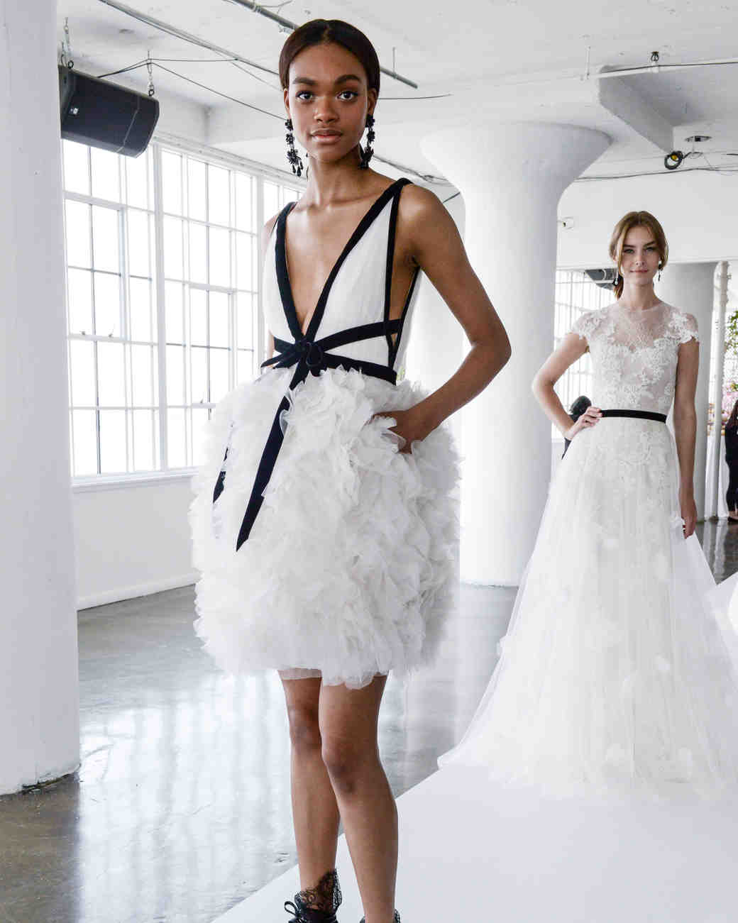 73 Chic Short Wedding Dresses  Martha Stewart Weddings