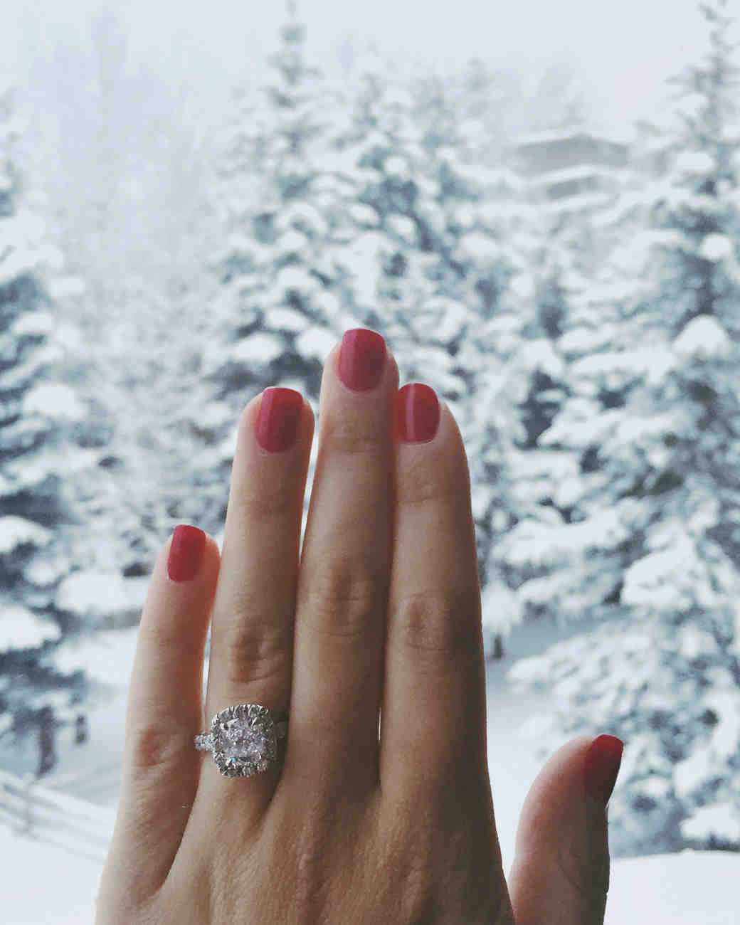 10 Crazy Cute Holiday Engagement Stories Martha Stewart