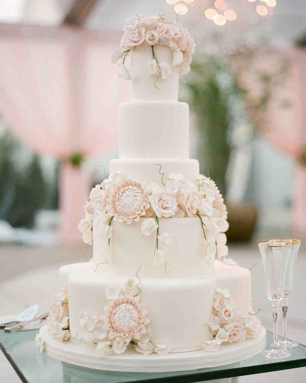 Wedding Cakes Amp Toppers Martha Stewart Weddings
