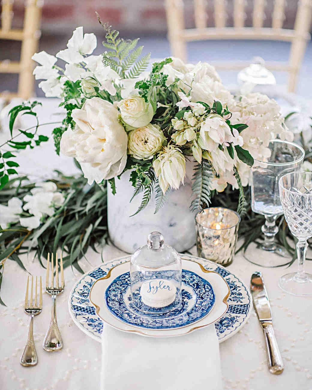Martha Stewart Weddings Centerpieces