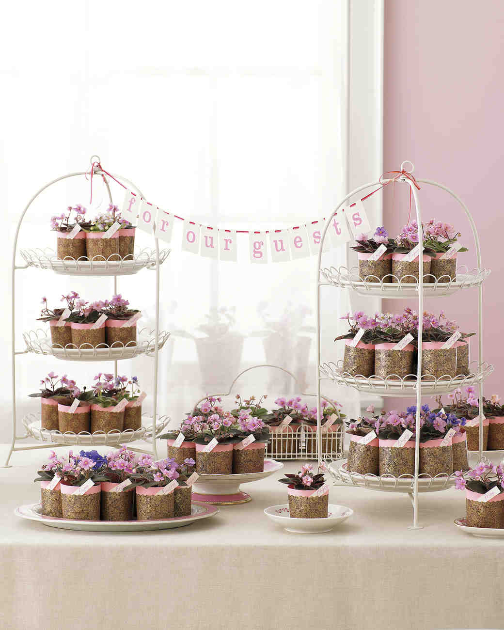 Floral and Plant Favors to DIY for Your Big Day  Martha Stewart Weddings