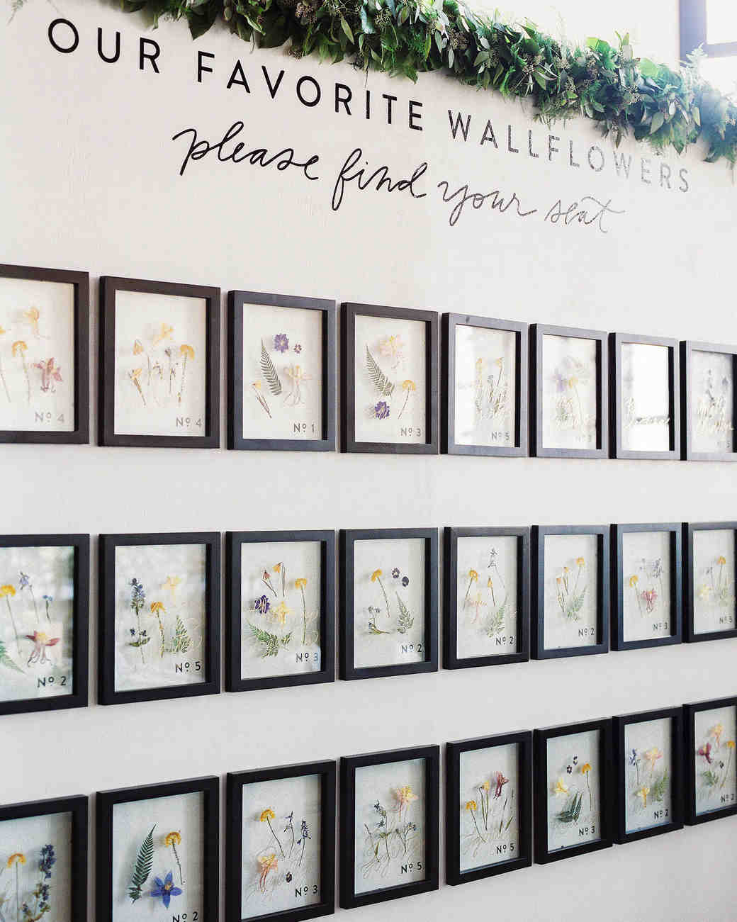Wedding wallflower seating assignments also unique charts to guide guests their tables rh marthastewartweddings