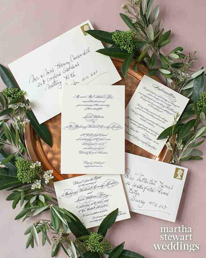 33 Wedding Stationery Sets Invitations Clic