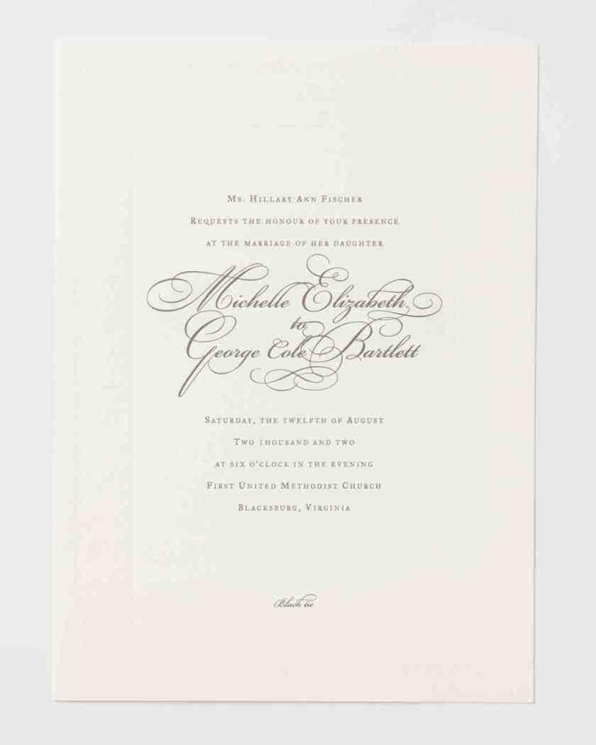 Line Scenarios To Make Wording Your Wedding Invitations Super Simple