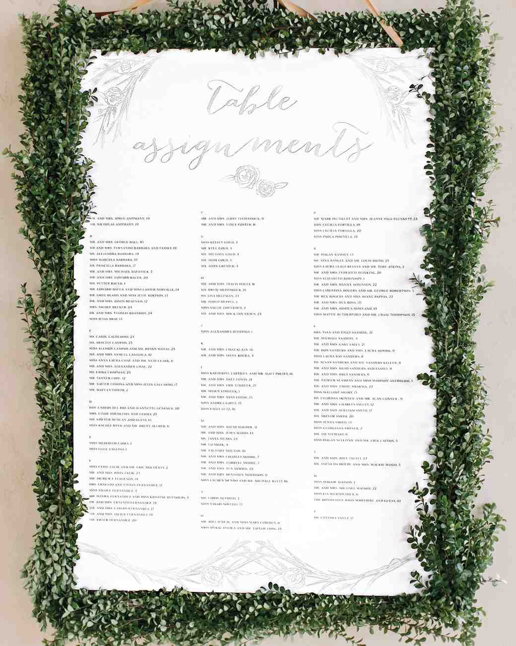 unique wedding seating charts to guide guests their tables martha stewart weddings also rh marthastewartweddings