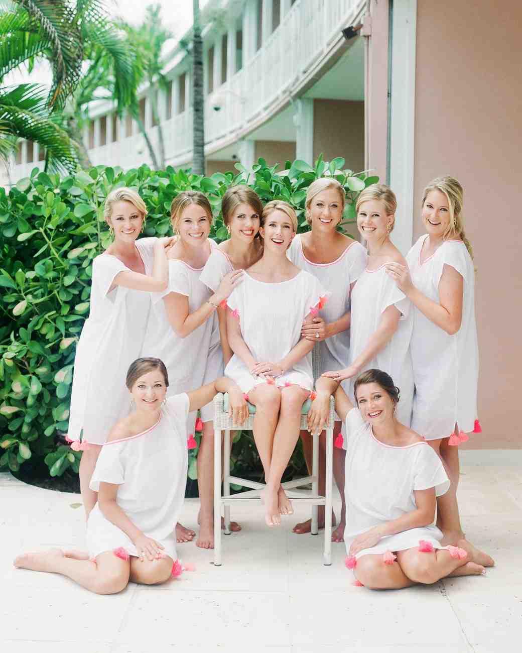 bridesmaids' robes alternatives