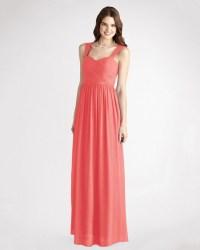 Coral Bridesmaid Dresses   Martha Stewart Weddings