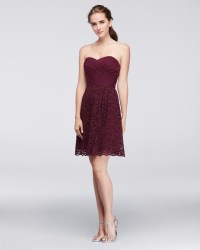 Burgundy Bridesmaid Dresses | Martha Stewart Weddings