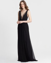 Chic Black Bridesmaid Dresses | Martha Stewart Weddings