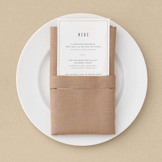 pocket napkin fold martha