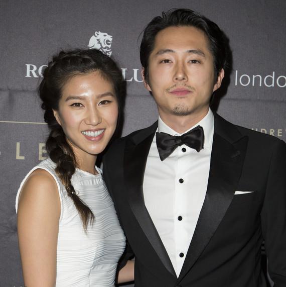Steven Yeun Of The Walking Dead Marries Joana Pak