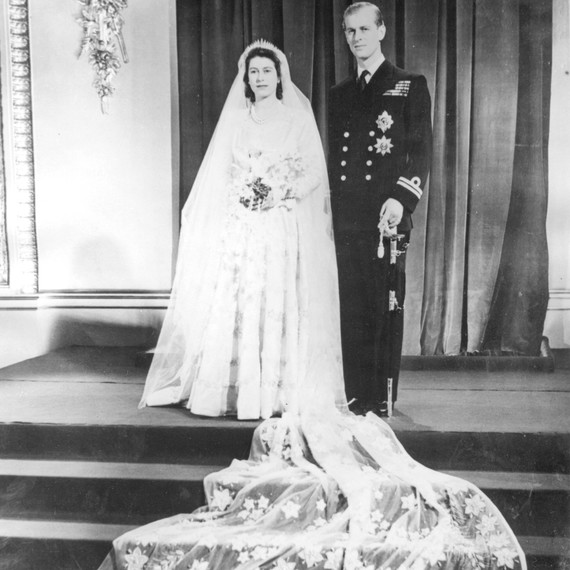 This Is What Queen Elizabeth and Prince Philips Wedding