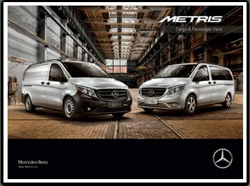 Sprinter and Metris Commercial Vehicles  MercedesBenz Vans