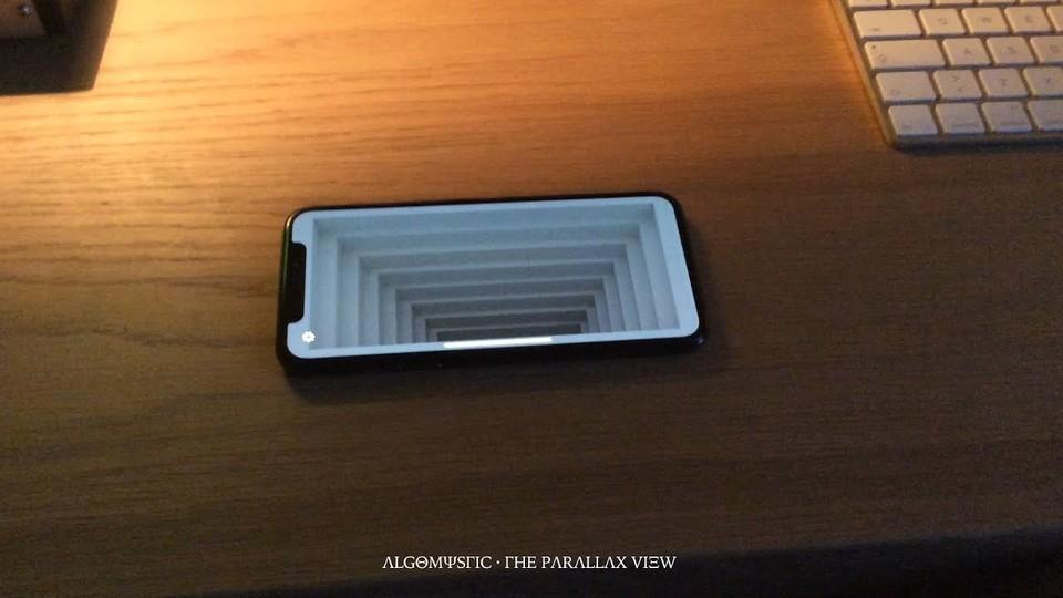 Iphone Optical Illusion Wallpaper Iphone Xの画面を底なしの階段に変える ギズモード・ジャパン