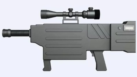 Image: Handout from ZKZM Laser