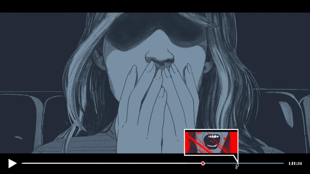 怖がりさんがホラー映画を観る方法