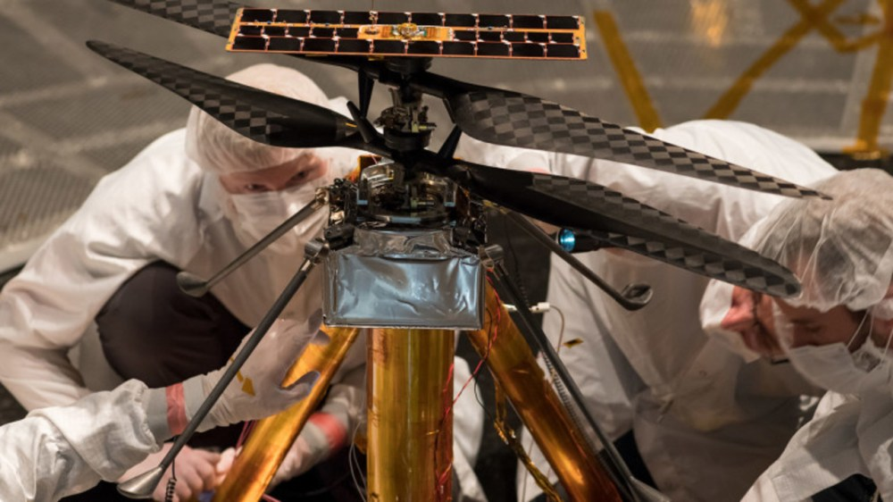 2021年、火星をヘリコプターが舞う! NASAが開発テストに成功