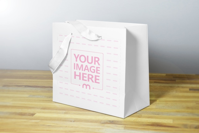 gift tag mockup you will get. Gift Bag Mockup Generator Mediamodifier
