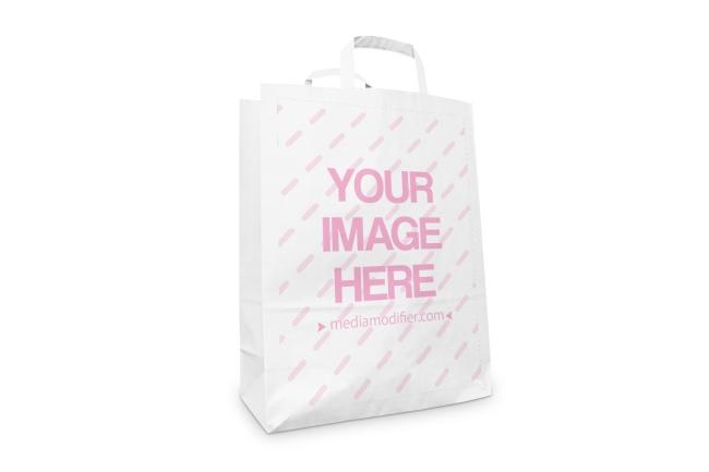 Bag mockup and transparent png images free download. Standing Paper Bag Online Mockup Generator Mediamodifier