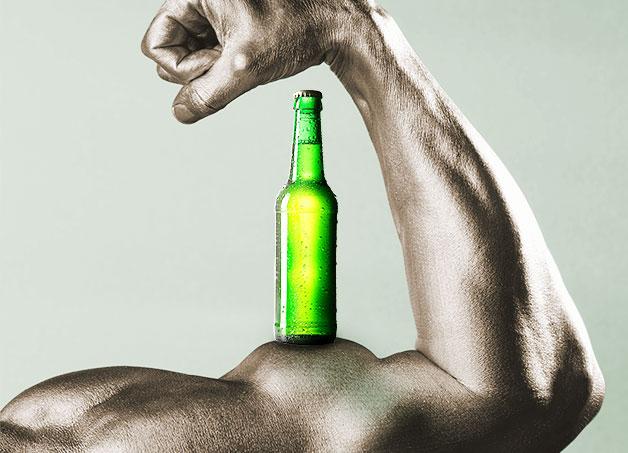 Image result for beer after workout