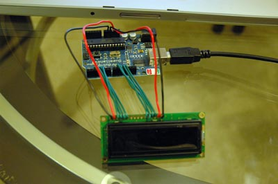 arduino lcd screen wiring diagram 2007 honda odyssey belt hooking up a parallel to arduino|midnight cheese