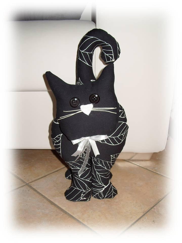 Gatto fermaporta nero  Per la casa e per te  Decorare