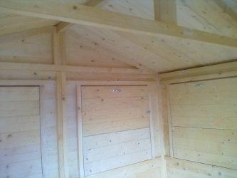 Chiosco in legno 3x3 20mm  Per la casa e per te