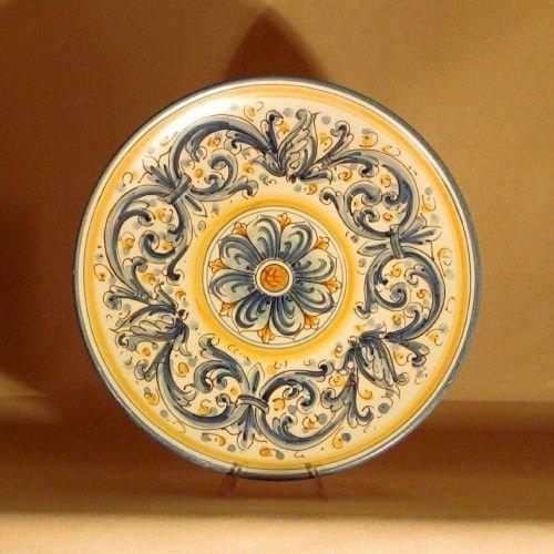Ceramiche di Caltagirone  Piatto Grande  Per la casa e